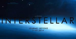 Interstellar Teaser Banner