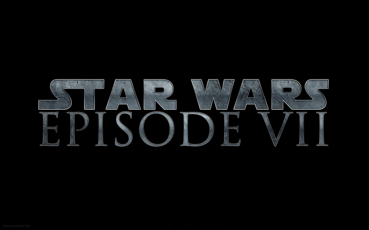 Star Wars Episode 7 Logo by Enoch16