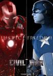 Marvel's Civil War Poster