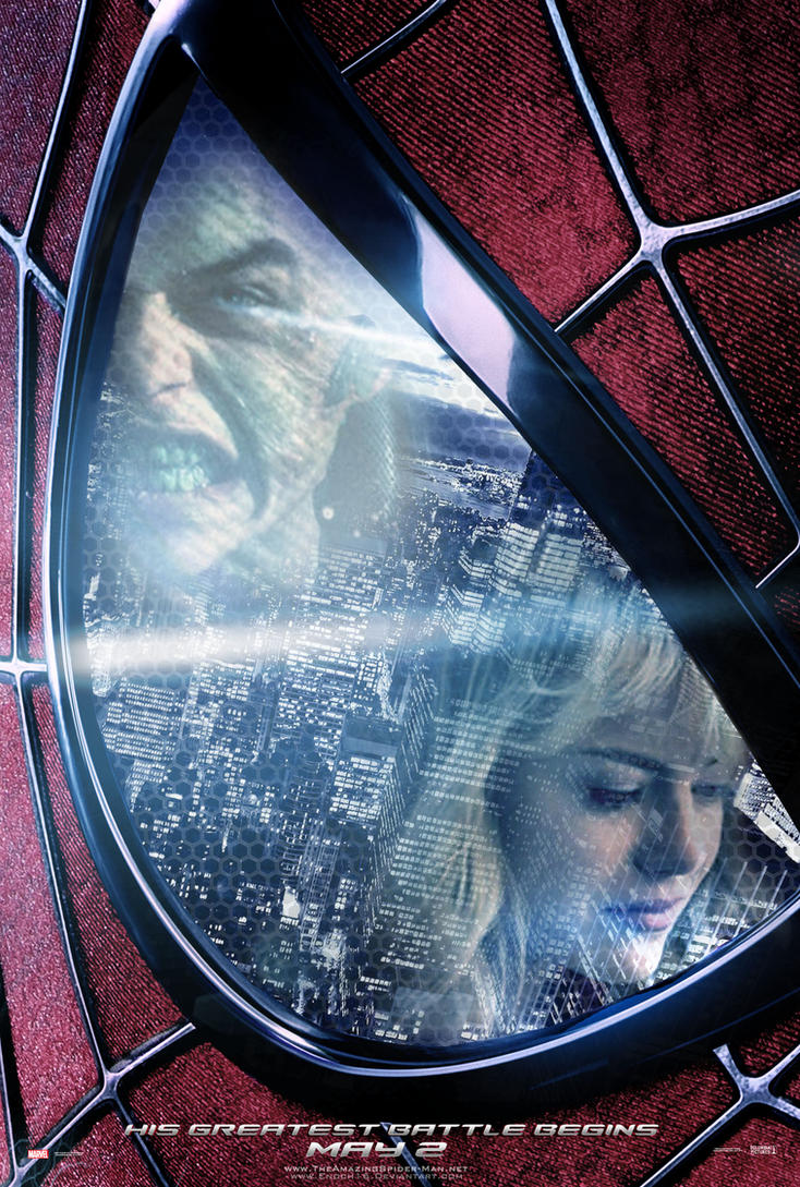 the amazing spiderman 2 2014 poster by enoch16 on