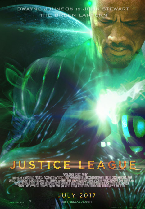 Justice League (2017) Green Lantern Poster by Enoch16 on ...
