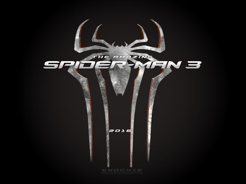 The Amazing Spider-Man 3 LOGO by Enoch16