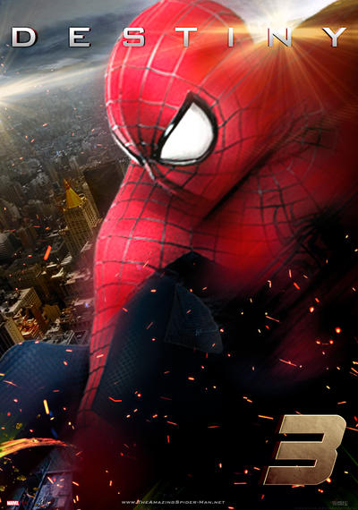 The Amazing Spider-Man 3 Teaser Poster by Enoch16