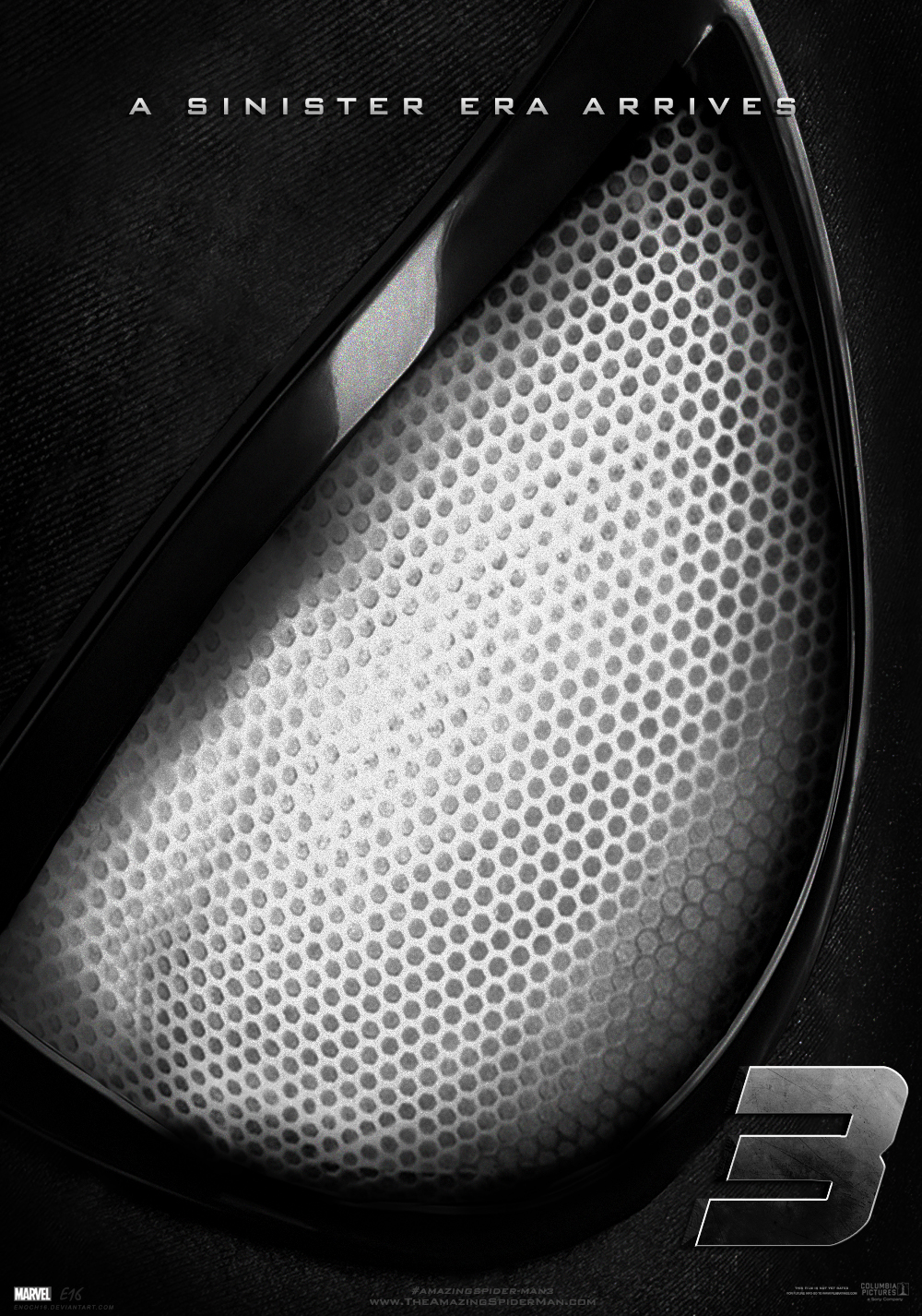 The Amazing Spider-Man 3 Teaser Poster Black Suit by Enoch16