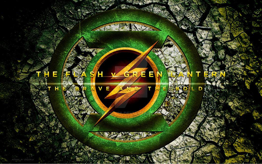 The Flash V Green Lantern (2017) Logo
