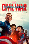 Captain America Civil War Poster (Spider-Man)