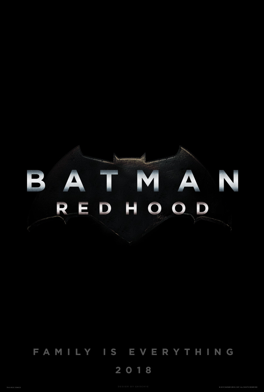 Batman: Red Hood Teaser Poster (2018) by Enoch16