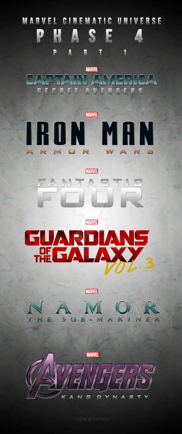 Phase 4 Marvel Cinematic Universe Part 1