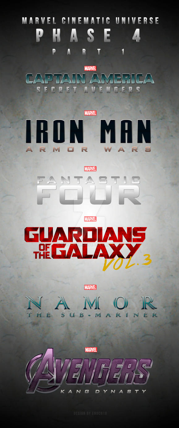 marvel film universe phase 4