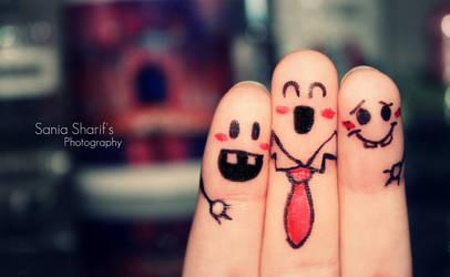 Happy Threesome by S-S-J