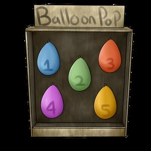 Ballon Pop by FleetingStability