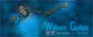 William Gallas Sig by gio0989