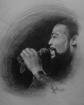 Barry white drawing