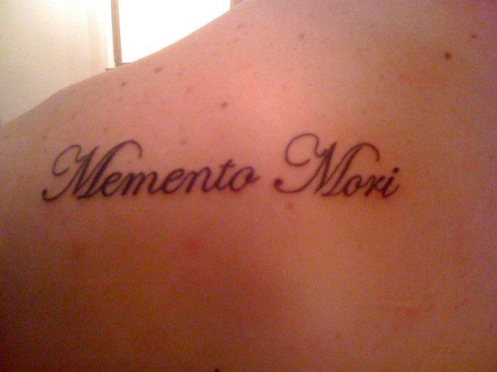 Free Wallpaper Hot: Memento Mori Tattoo