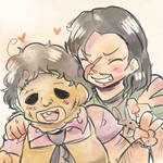 leatherface is cute
