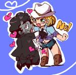 Bubba is girlfriend