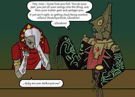 So Two Zelda Villains Walk Into a Bar... by Astrodynamicist