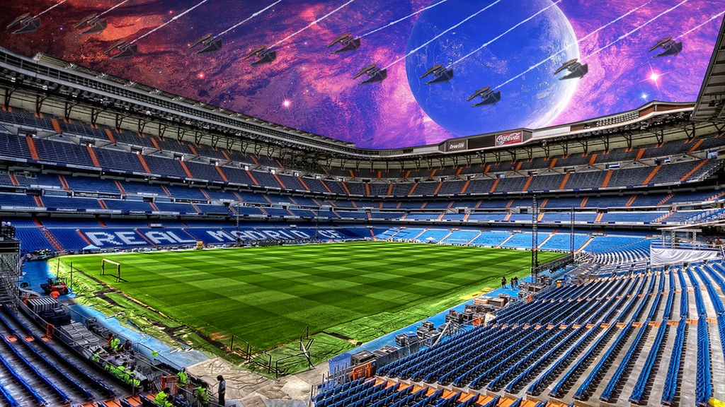 Space Santiago Bernabeu wallpaper 1920x1080 by Vilyam14 ...
