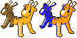 Kirinriki sprites by Axel-Comics