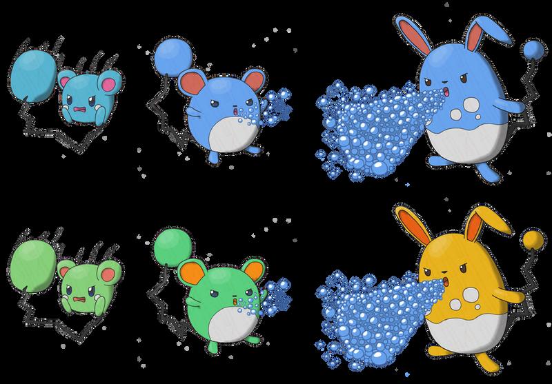 Azumarill evolution