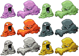 Grimer Muk Pixel-overs by Axel-Comics