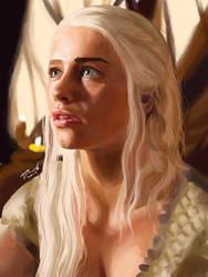 Khaleesi of GOT by crazyL0cke