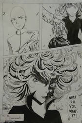 One Punch Man Manga by ReaperCruxie
