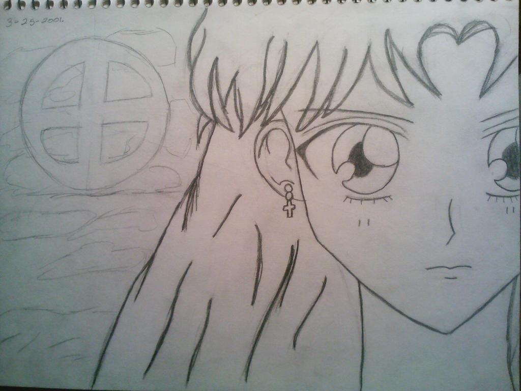 Sailor Moon OC by Marigretle