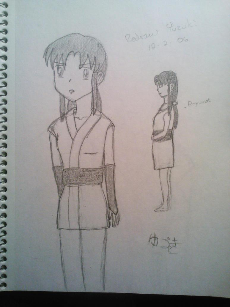 Inuyasha OC, Yuzuki by Marigretle
