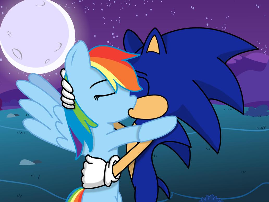 SonDash Moonlight kiss by Marigretle