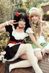 Kotori and Nico - Love Live School Idol