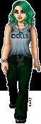 The green hair again by Idryll
