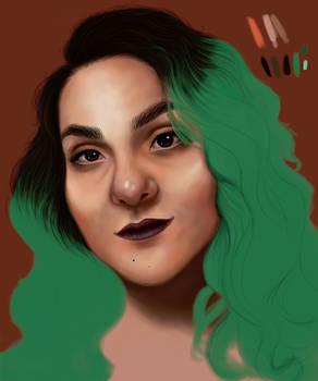 WIP auto retrato 2