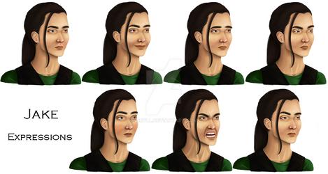 Jake portraits
