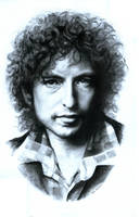 Bob Dylan by DLalmond