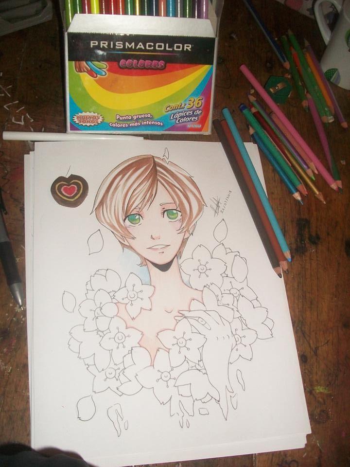 Draw in processs by MariaNekoFG