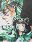 Shiryu y Ryuho