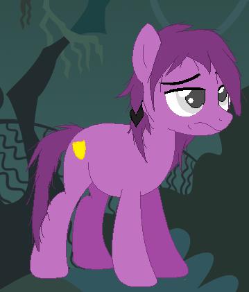 Purple guy pony before insanity by slawterthewolf on deviantart
