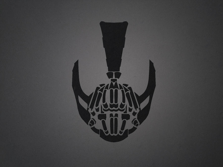 Bane Wallpaper by oribaaa