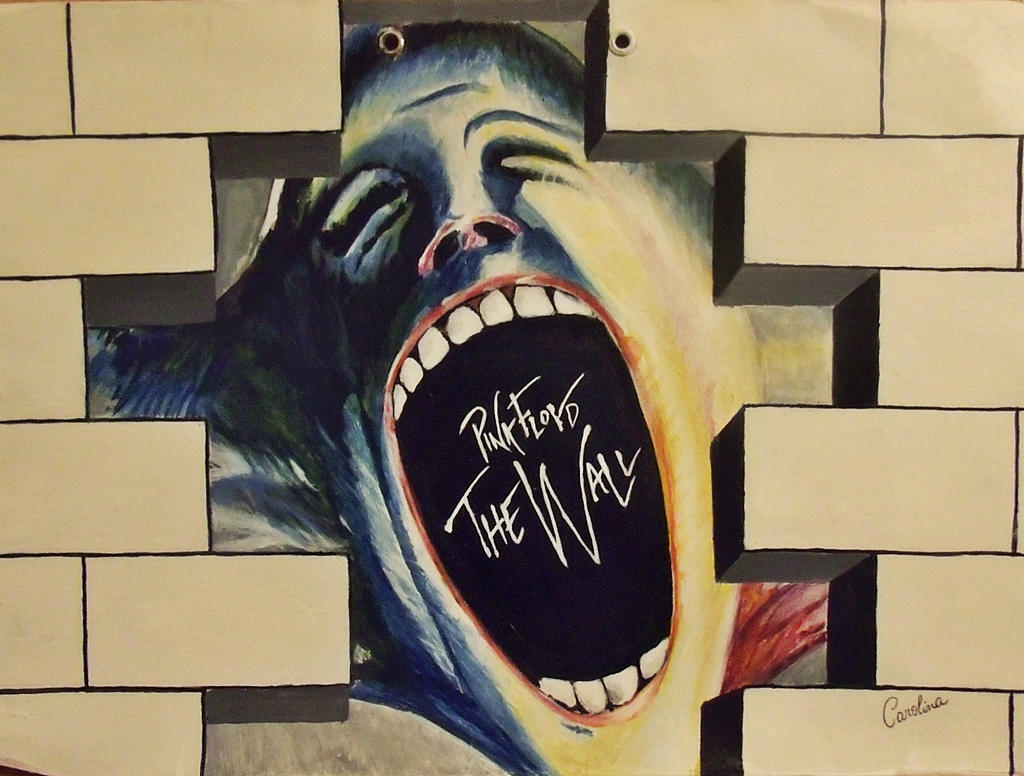 Pink Floyd - The Wall by CoraBime on DeviantArt