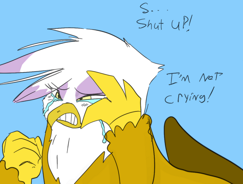 Gilda Crying by DizzyPacce