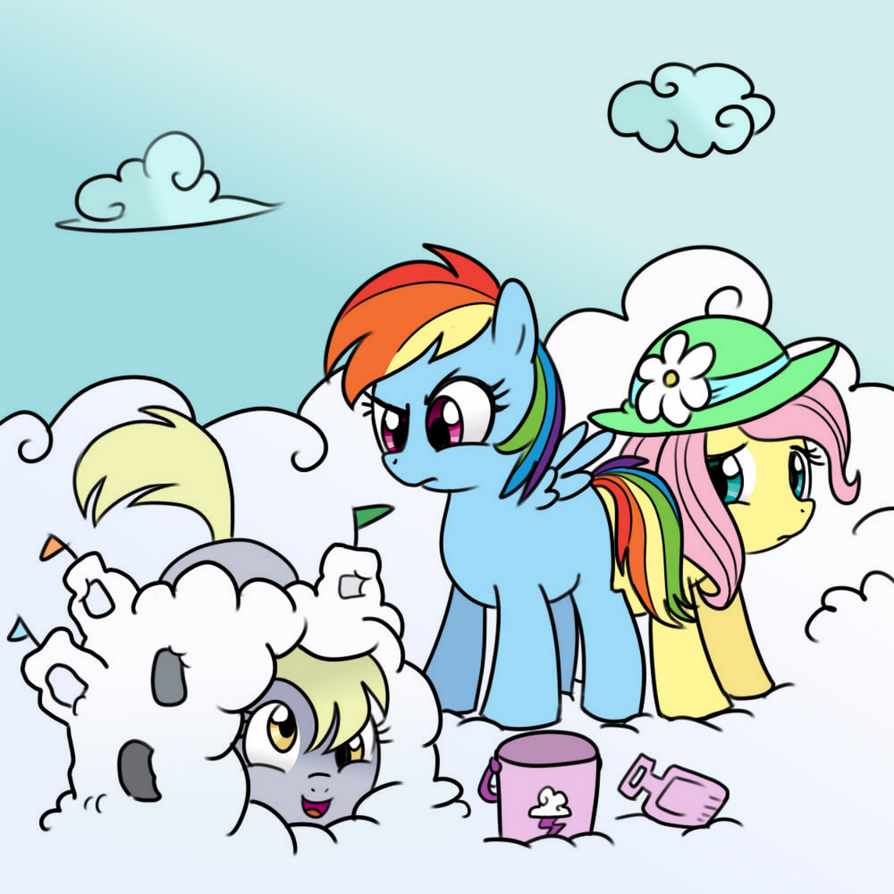 Derpy looks for the princess by DizzyPacce on DeviantArt  Filly Rainbow Dash And Derpy