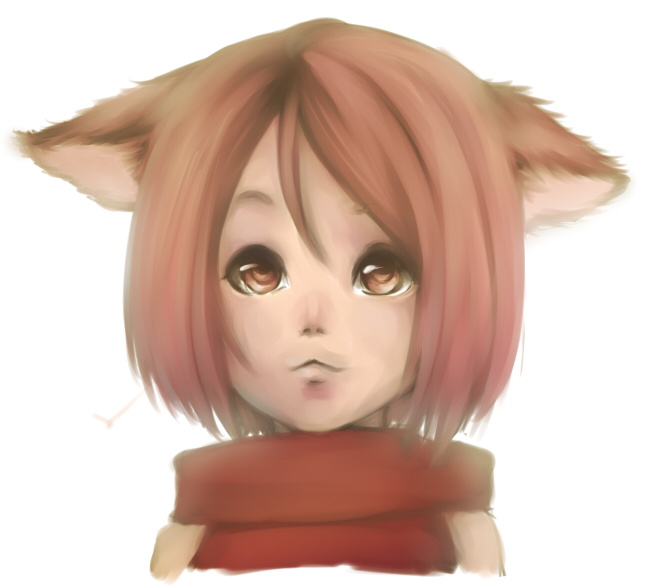 DWM: CAT GIRL by bente36