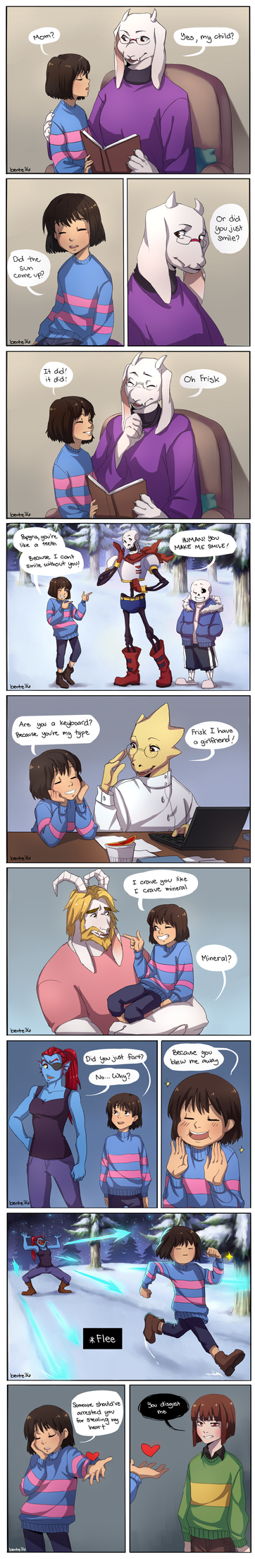 [UnderTale] Pick-up Lines by benteja