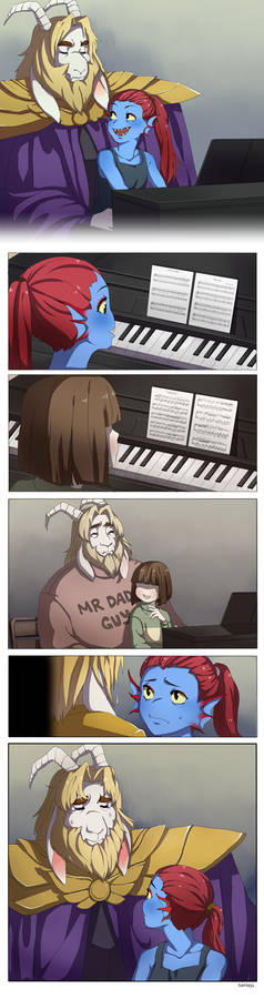 [UnderTale] - Memory of a Father