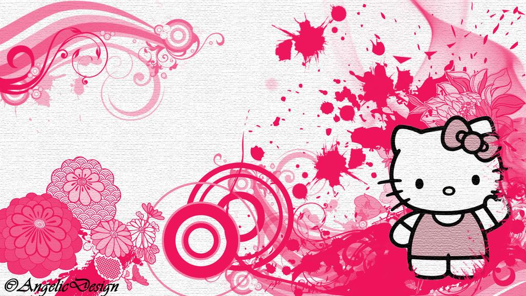 Hello Kitty wallpaper by yukari99 on DeviantArt