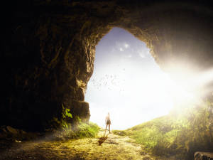 Cave-entrance