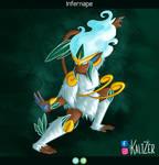 Pokemon variants #12: Ice / Grass M O N K E