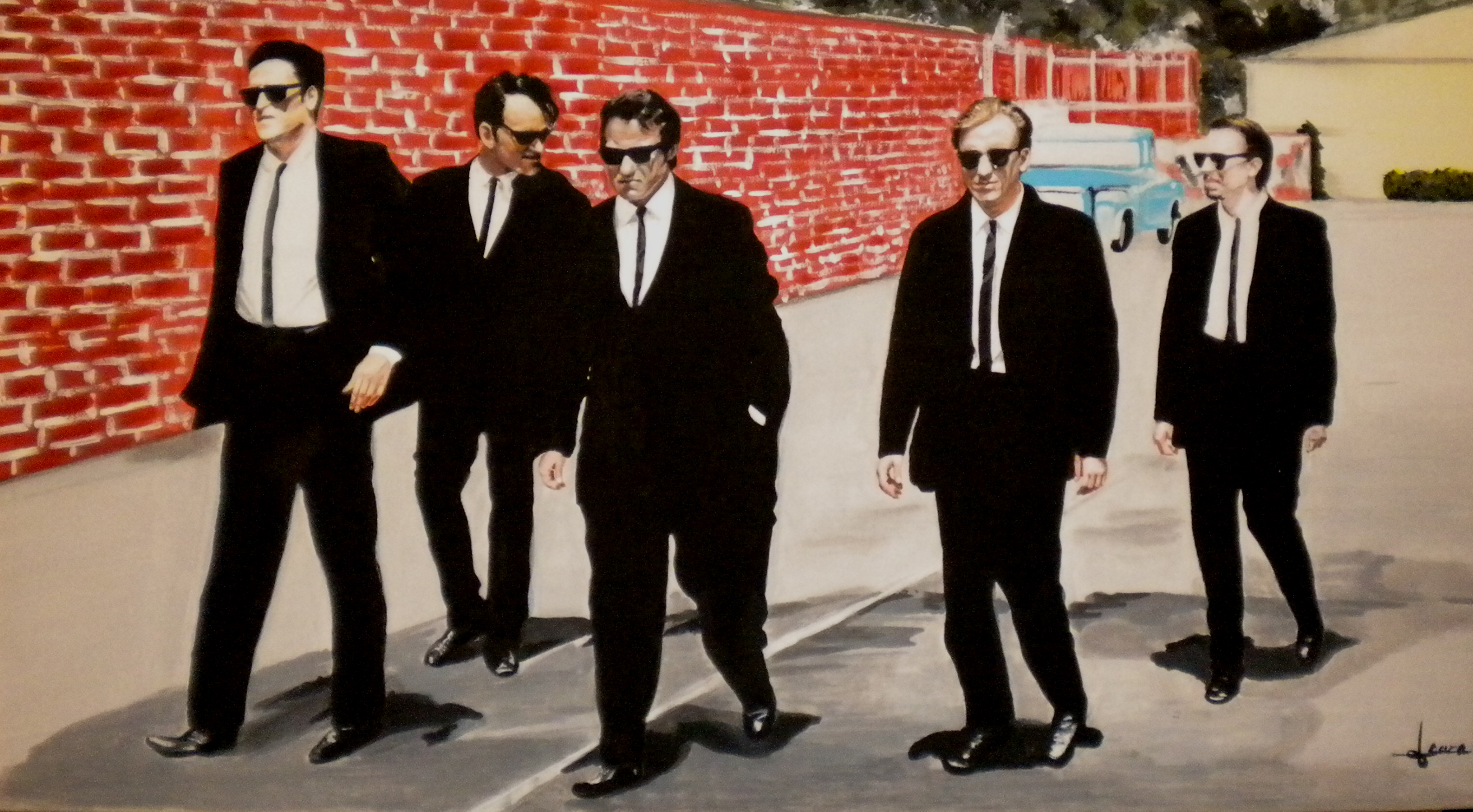 Reservoir Dogs On Stage  Way Mirror