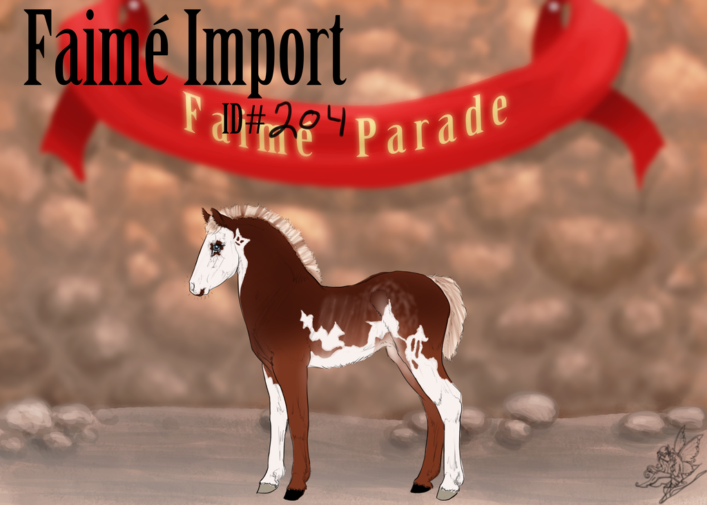 Haloween Faime Import 204 by AutumnCreekFarms